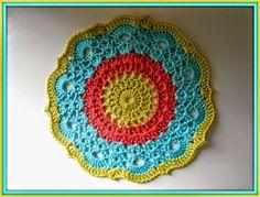 Haak Maar Aan: gehaakte mandala met patroon