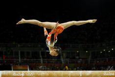 JUEGOS OLÍMPICOS DE RÍO-2016. Eythora Thorsdottir (Holanda) en la competición final de gimnasia artística.