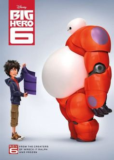 Oh. My. God!!!!! BH6 is coming out on Disney Movies Anywhere tomorrow!!! I can't wait! 25 more days until it comes out in Blue-Ray!