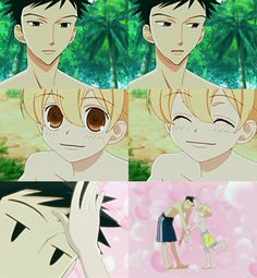 Ouran Highschool Host Club :) Honey and Mori