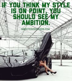ambition on point
