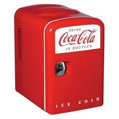 Koolatron KWC4 Coca-Cola Personal Refrigerator