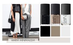 """Warm Minimalism In Beauty"" by nmkratz ❤ liked on Polyvore featuring NARS Cosmetics"