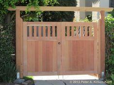 Los Angeles Wood Driveway Gates