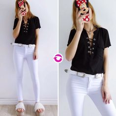 Black & White  [CAMISA GARDEN] $800 [CINTURON] $240 [PANTALON DUBAI] $750 Local Belgrano Efectivo 10% OFF Envíos Tarjetas 5 cuotas sin interés Tienda Online www.oyuelito.com.ar #followme #oyuelitostore #stylish #styles #fashion #model #fashionista #fashionpost #ootd #moda #clothing #instafashion #trendy #chic #girl #trends #outfitoftheday #selfie #showroom #loveit #look #lookbook #inspirationoftheday #modafemenina