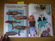 Hana Ayoob on Artist Journal, Grown Women, Book Projects, Hana, Journal Inspiration, Drawing S, Art For Kids, Repurposed, Journaling