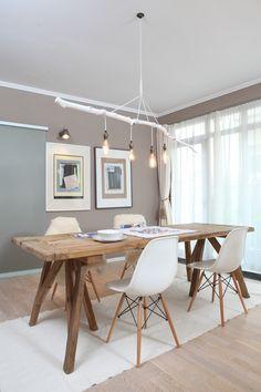 Decor, Apartment Furniture, Rustic Decor, Furniture, Interior, Home Decor, House Interior, Vintage Furniture, Dining Table