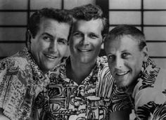 The Kingston Trio ~ theirs is the first concert I ever went to.  I was a Junior in high school.  They were an older group then but I still loved it!