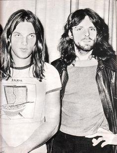 david gilmour & syd barrett... Classic Floyd!  <----------- no no no...it's david and rick