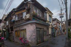 11月15日夕方には雨もやみ、きれいな夕焼けの東京でした。 東京都 墨田区 (玉の井から鳩の街)-6