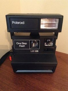 Vintage 1980s Polaroid Camera- fully functioning...Please save this pin... ... Because for vintage collectibles - Click the following link! http://www.ebay.com/usr/prestige_online