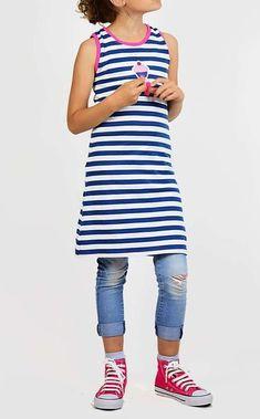 Schnittmuster / Freebook lillesol basics No.56 Strandkleid / gratis schnittmuster / kostenloses Schnittmuster / Nähen Kleid / Kinder / Sewing pattern dress / free tutorial