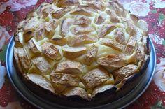 Prăjitură cu iaurt şi mere