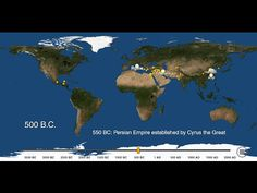 really cool! - - - Watch Cities Spread Across The Planet Over 5,000 Years - New data from researchers at Yale University turns a piecemeal historical record into a comprehensive and accessible dataset of urban population figures since 3,700 B.C. Independently, Metrocosm blogger Max Galka used their data to map the rise of cities, showing a few thousand years of population changes in his three-minute video.