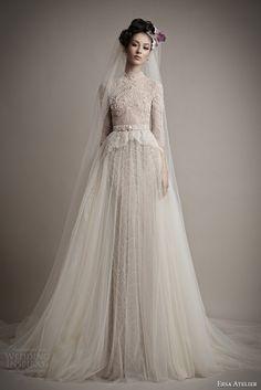 Muslim-wedding-dresses-3 46 Fabulous Wedding Dresses for Muslim Brides 2016