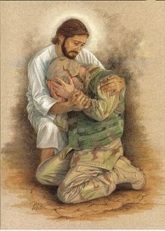 Love! May the Lord send his warrior angel, Michael to guard over our troops.