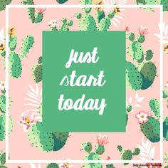 Free Printable from Gold Standard Workshop: Just Start Today
