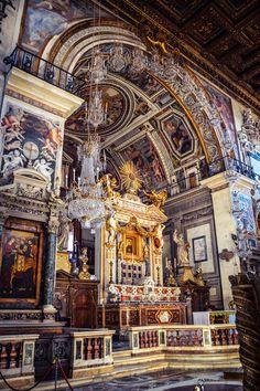 Basilica de Santa Maria en Aracoeli (Roma - Italy)