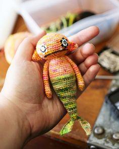 Crochet Monster Mermaid