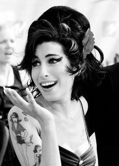 Amy Winehouse. A rare talent cut short all too quickly.