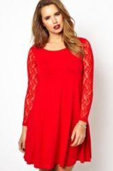Trendy Plus Size Fashion for Women: Autumn Dresses  love it! just need longer length