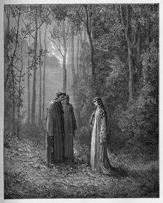 Purgatory: La Pia. Creator: Doré, Gustave Date: c.1868