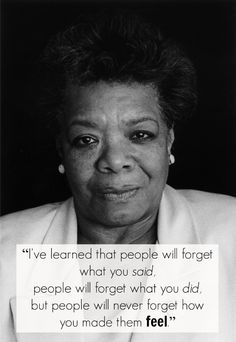 Maya Angelou has passed away.