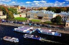 Sheremetev Palace on the Fontanka River Embankment in St Petersburg, Russia