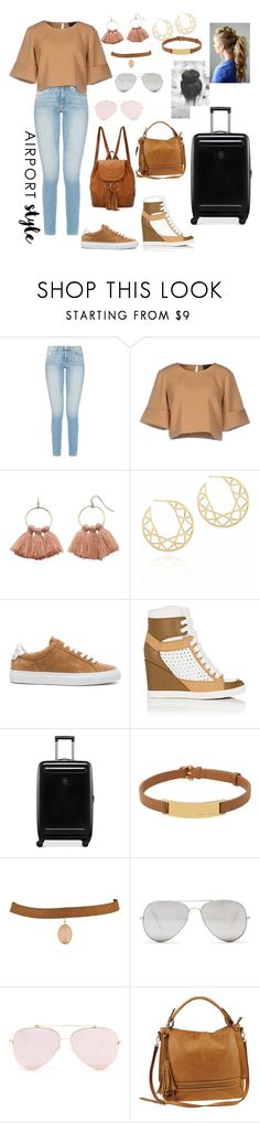 """""""Airport Style..."""" by indstargazer0804 ❤ liked on Polyvore featuring The Fifth Label, LC Lauren Conrad, Myia Bonner, Givenchy, See by Chloé, Victorinox Swiss Army, Henri Bendel, Sunny Rebel and Urban Expressions"""