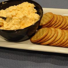This recipe was improvised from a steakhouse that was famous for its huge crock of cheese spread, Ritz crackers, and peanut shells on the floor in the bar area.  The Hayloft is long-gone now, but thanks to this recipe, friends and family can still get a taste at my house during the holidays. I store in several covered containers in the fridge  so that I can serve more than once during the holidays.