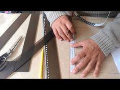 Trazo del patrón del pantalón base para dama parte 2 (espalda) - YouTube