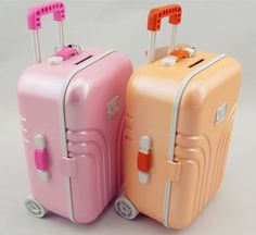 Mini Suitcase Piggy Bank