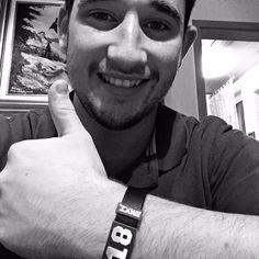 Hey Bernd, Danke für das Foto von Dir und Deinem #BRAYCE ! Thumbs up!  #myBRAYCE #Armband #bracelet #BRAYCEyourself