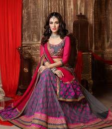 62ddcd73e9e08d Buy Best Deal Designer Green Embroidered Jacquard Fancy Lehenga with Blouse  ghagra-choli online | Ghagra Choli Bridal Patterns and Designs | Pink  lehenga, ...