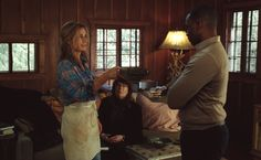 Sandra Bullock, Anthony Mackie and Ann Dowd in Our Brand is Crisis