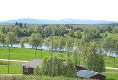 Kairala village in Finnish Lapland.