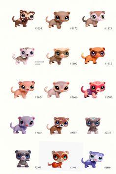 Nicole`s LPS blog - Littlest Pet Shop: Pets: Ferret