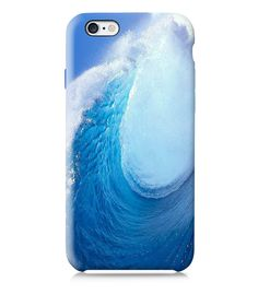 Blue Ocean Wave iPhone 6 case iPhone 4 case iPhone by VDirectCases Iphone 5c Cases, 5s Cases, Cell Phone Cases, Iphone 4, Blue Train, Lg G3, Ocean Waves, Phone Cover, Tech Accessories