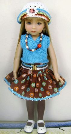 "Dianne Effner Little Darling 13"" Doll OOAK Heirloom Quality Fashion ~by Janet"