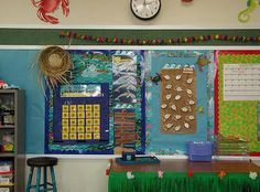 @Megan Ferrell this is so cute!! the website shows you a beach themed classroom!!
