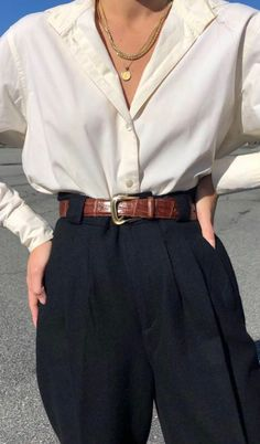Fashion Beauty, Fashion Tips, Fashion Trends, Fashion Outfits, Womens Fashion, Love Fashion, Women's Trousers, Simple Style, Culottes