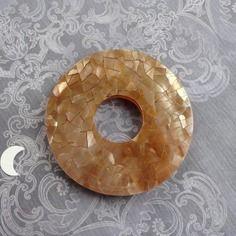 grande perle or esprit craquelé pour création bijoux tendance 2015 chez soldissime pearls