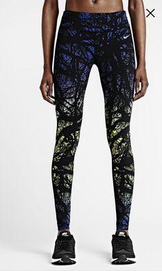 Nike printed engineered (women's running tights)