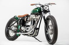'A Bobber built for a tattoo shop owner.'Those words could have started a thousand motorcycle articles over the years, but this time it is something completely unique.  Rock Solid Motorcycles from…