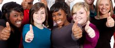 Multi-racial college students with thumbs up. A group of multi-racial college st , Student Photo, College Students, Royalty Free Photos, Hold On, Photo Editing, University, Education, People, Photography