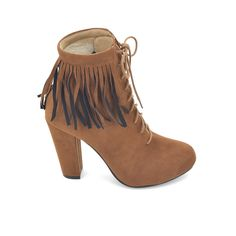 Have fun with textures when you opt for this pair of cool stacked heel boots. The fringe benefits to this pair is the compliments you'll get! Boot Shop, Compliments, Heeled Boots, Booty, Glamour, Pairs, Ankle, Heels, Shopping