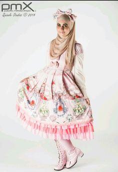 03e06312d 7 mejores imágenes de moda musulmana y japonesa lolita en 2017 ...