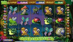 Play for free Super Lucky Frog video slot by Netent