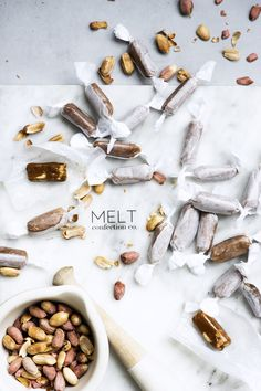 ... melt confection co peanut caramels | issy croker photography ...