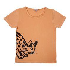 Emile et Ida Panther T-Shirt Camel